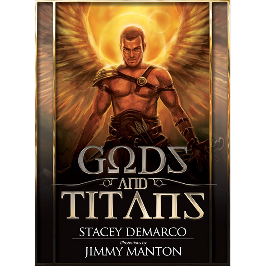 力量天神神諭卡|Gods & Titans Oracle 認識世界上最初的陽性神祇看見祂們所擁有的力量【左西購物網】