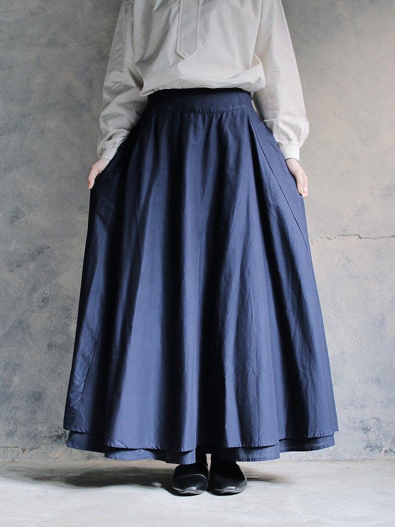 OMAKE Original 2way skirt 兩穿長裙  / 丈青