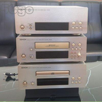5Cgo【現貨】極新二手故障不保障能用DENON UTU UDR UCD-F07 CD卡匣收音機 另UPA擴大機良好含稅