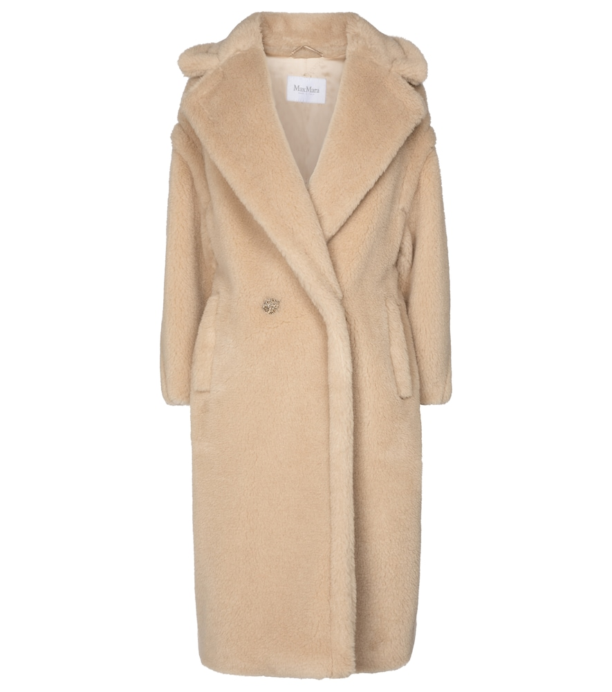 Ted camel wool and silk coat