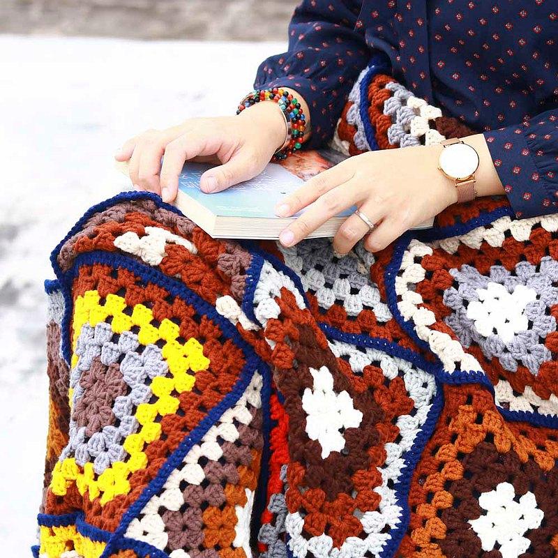 復古民族風織片毛毯工作坊
