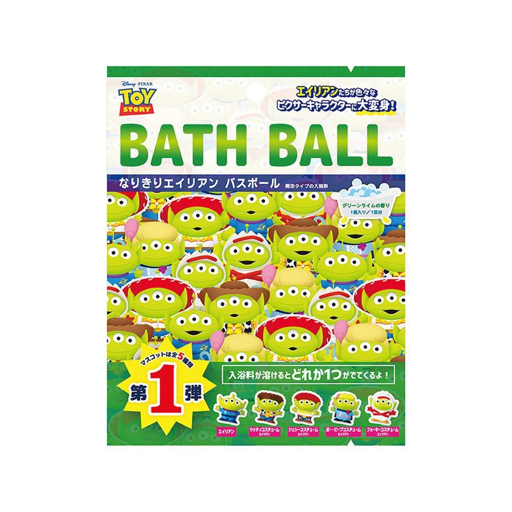日本 NOL 三眼怪大變身入浴球Ⅰ-1入(3Y+/泡澡/洗澡玩具/交換禮物)