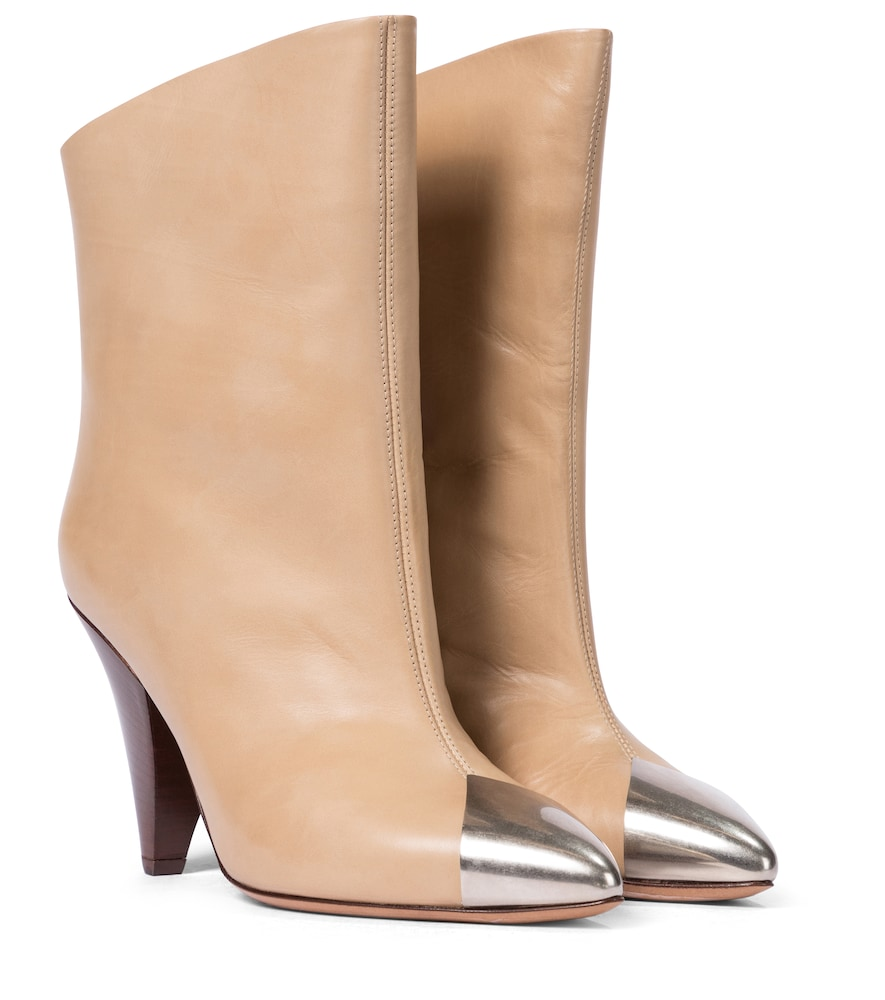 Lapee leather ankle boots