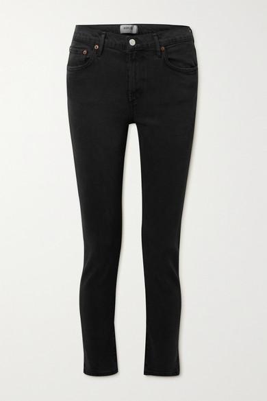 AGOLDE - 【net Sustain】toni 中腰直筒牛仔裤 - 黑色 - 29