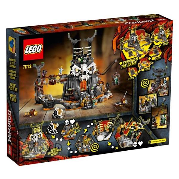 71722【LEGO 樂高積木】Ninjago 忍者系列 - 骷顱頭巫師地牢(3)