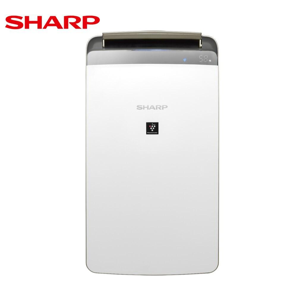SHARP 夏普16公升/日 衣物乾燥 自動除菌離子除濕機DW-LJ16T 免運費