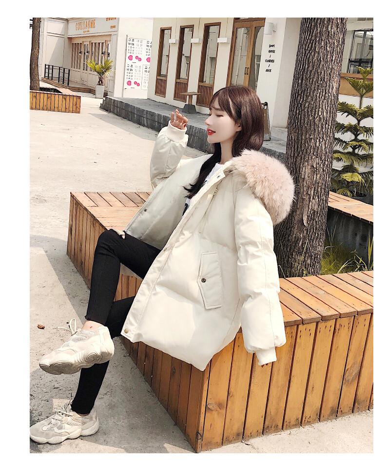 棉衣女冬裝2020新款韓版寬松加厚棉襖羽絨面包棉服冬季外套ins潮