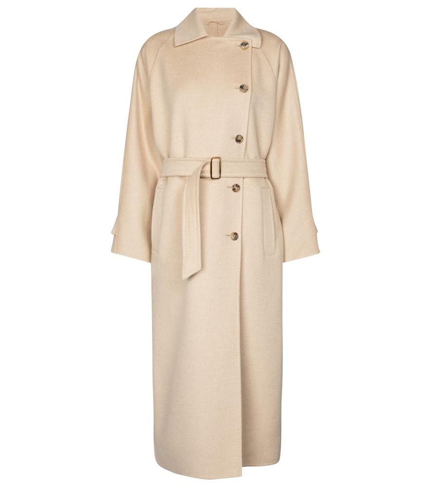 Osol camel wool coat