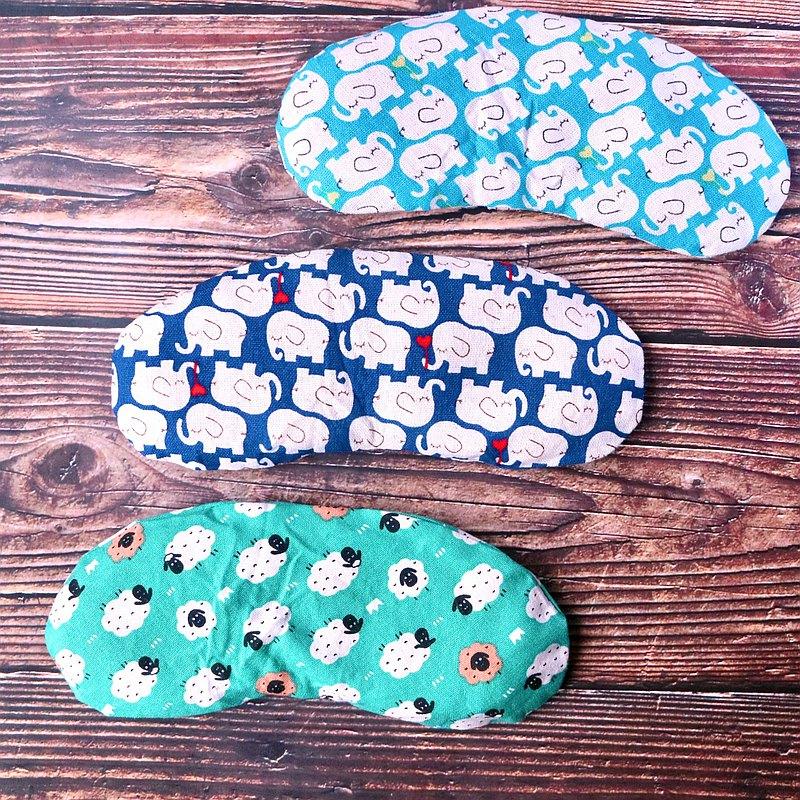 【絕版品出清】台灣製草本溫敷舒眠眼罩 微波加熱 可清洗替換