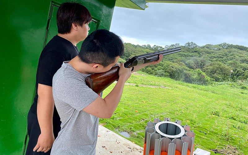 林口國家級飛靶真槍實彈獨特體驗