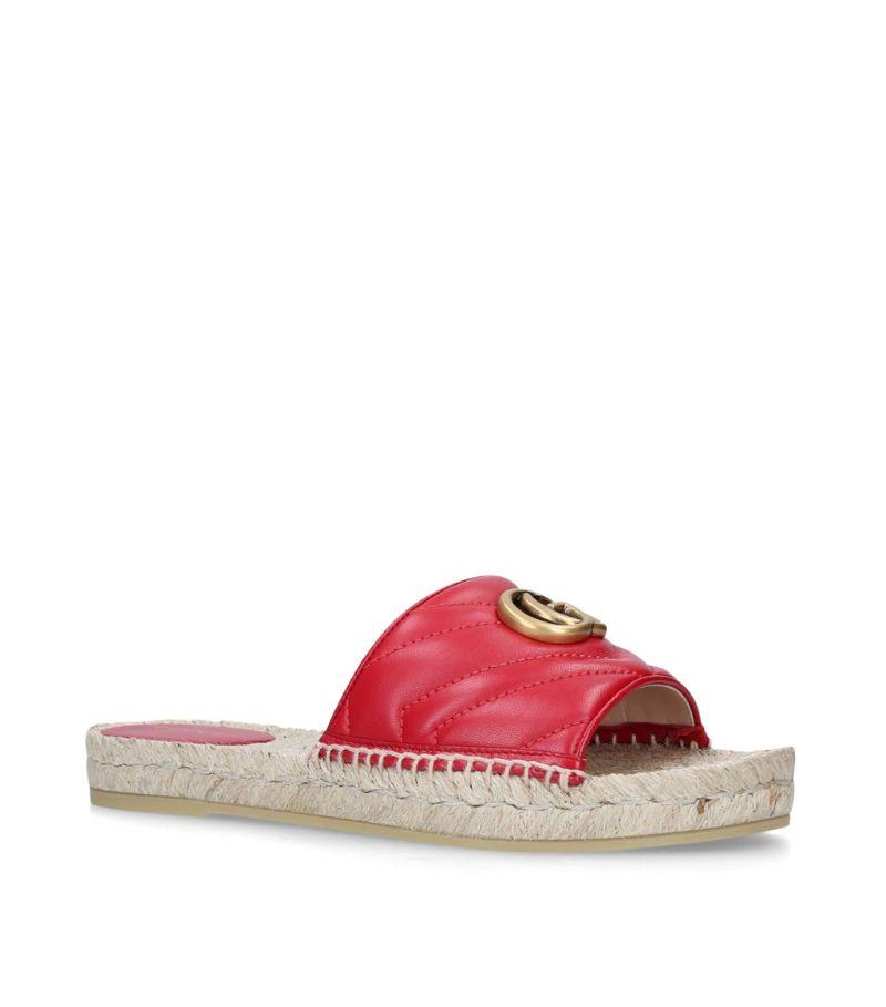 Gucci Pilar Espadrille Sandals