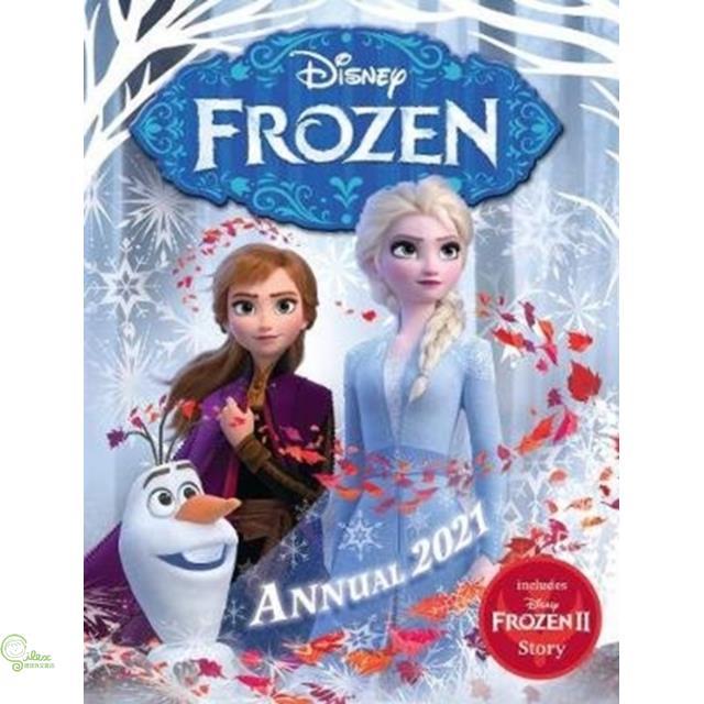 Disney Frozen Annual 2021【禮筑外文書店】(精裝)[9折]