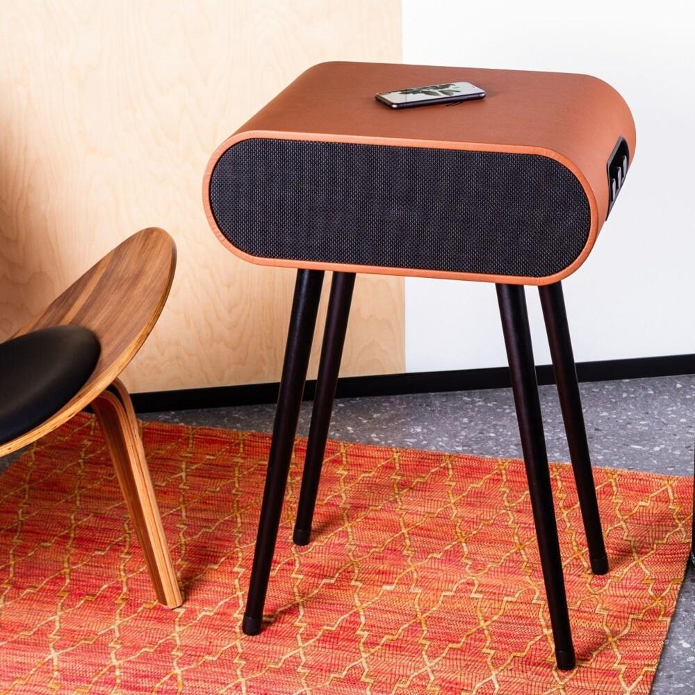 3abestbuy多功能無線充電時尚爵士音響桌附遙控器
