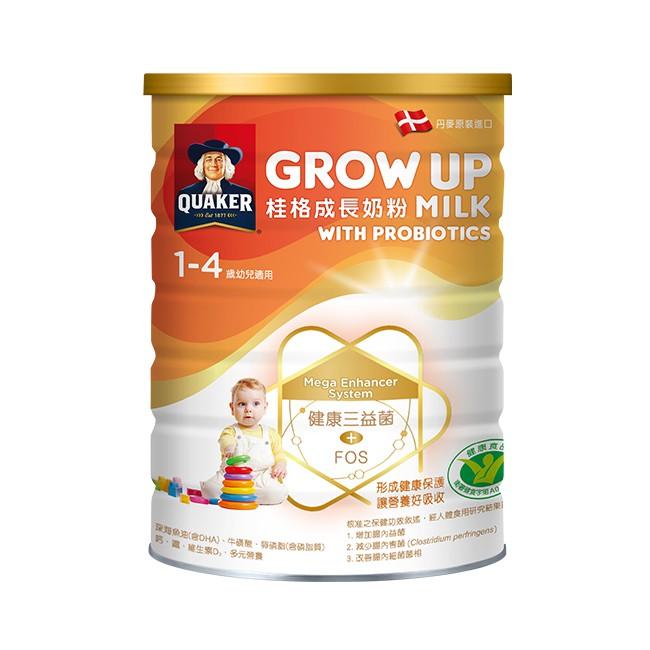 桂格成長奶粉三益菌配方825G/罐 【大潤發】
