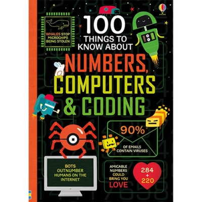 100 Things To Know About Numbers, Computers And Coding 100個數字、電腦與編碼知識書
