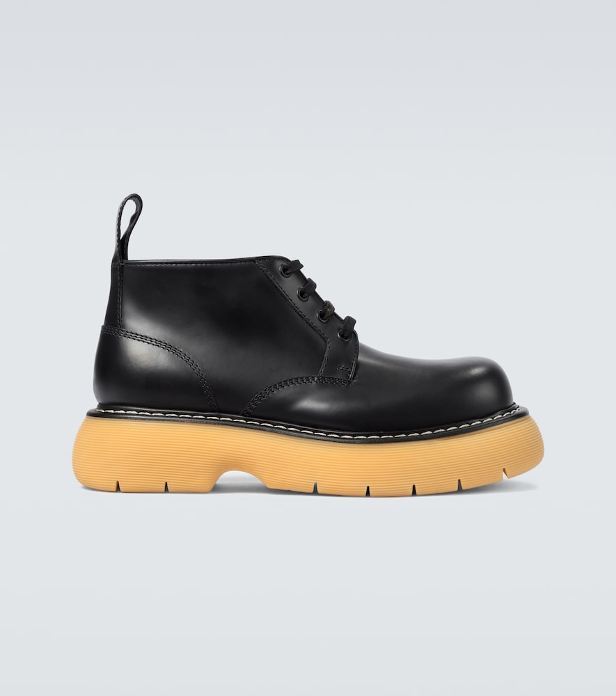 The Bounce leather boots