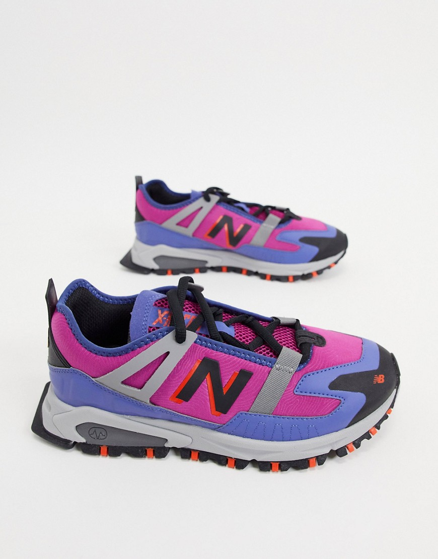 New Balance X-Racer Utility trainers in pink
