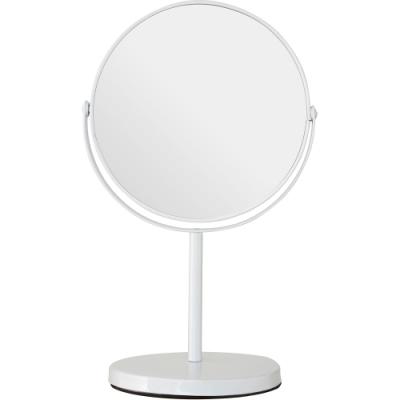 《Premier》雙面高腳桌鏡(白29cm)
