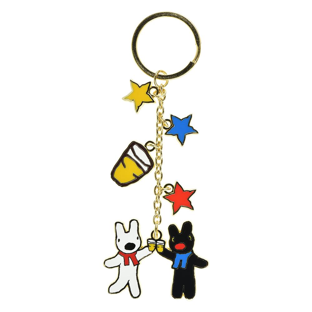 《麗莎和卡斯柏》吊飾鑰匙圈A-星星