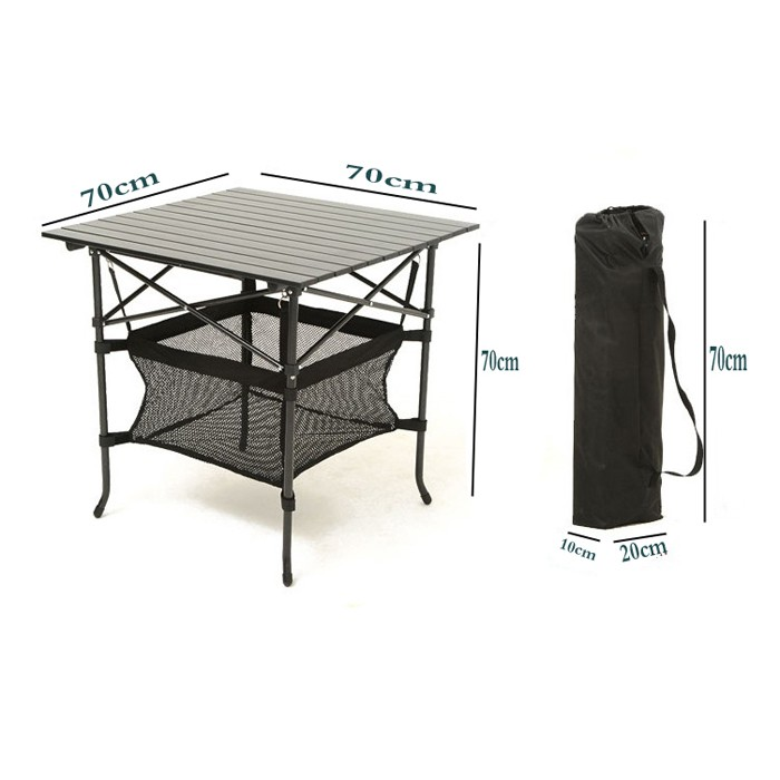 戶外折疊桌椅擺攤桌便攜式鋁合金桌野營餐沙灘露營宣傳桌