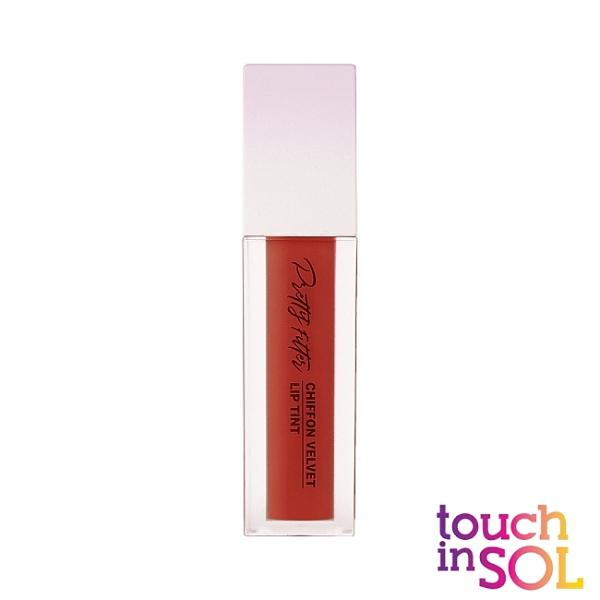 Touch in SOL光之瀅 美顏濾鏡雪紡絲絨唇釉5.5g 馬爾莎拉紅