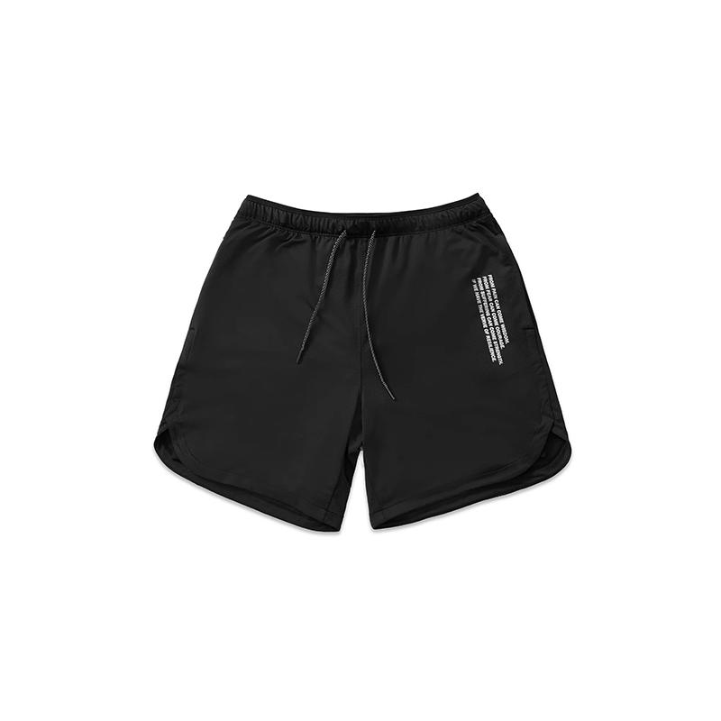 [VERVE Taiwan] 2-IN-1-抗菌訓練短褲 (碳黑) L