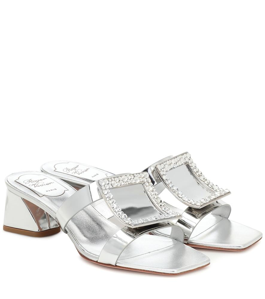 Bikiviv' 45 metallic leather sandals
