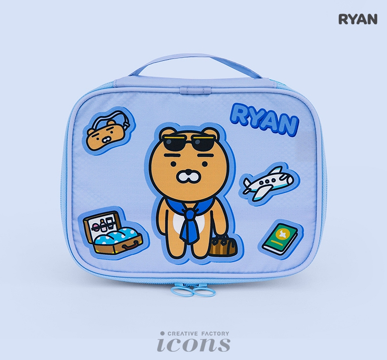 《Kakao Friends》旅行收納袋(L)-Ryan