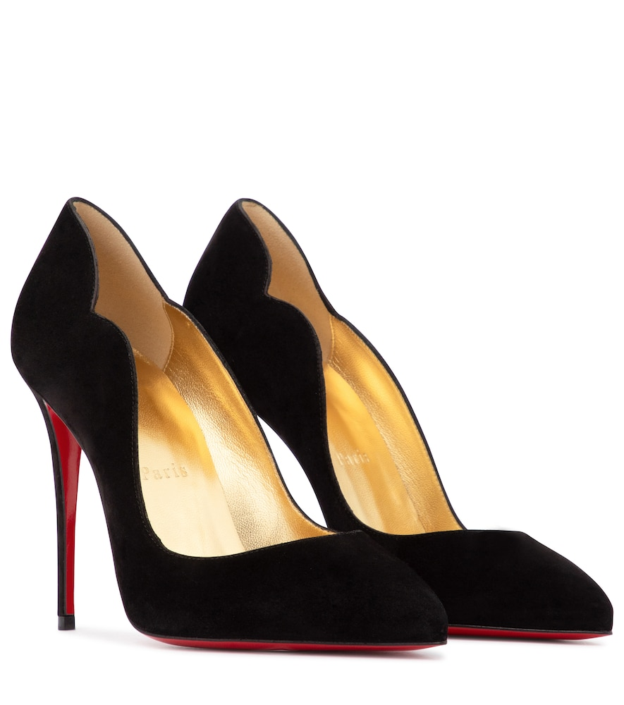 Exclusive to Mytheresa - Hot Chick 100 suede pumps