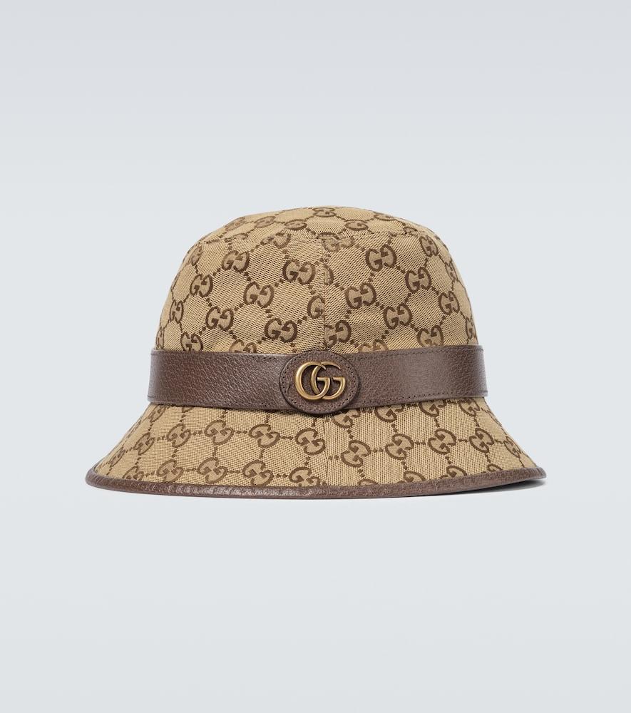 GG canvas fedora hat