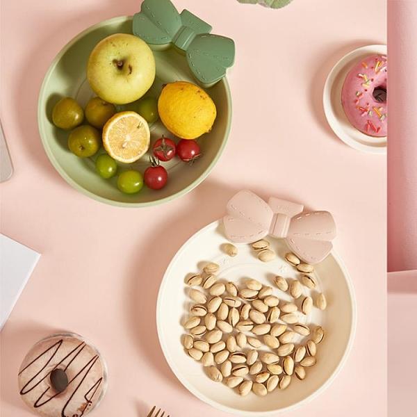 糖果盤北歐家用水果盆塑料零食干果盤【聚寶屋】