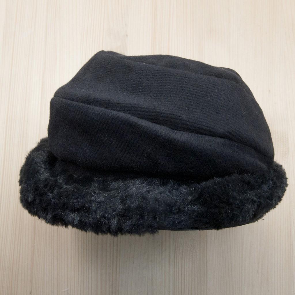 mocodo 冬日印象毛絨優雅小圓帽