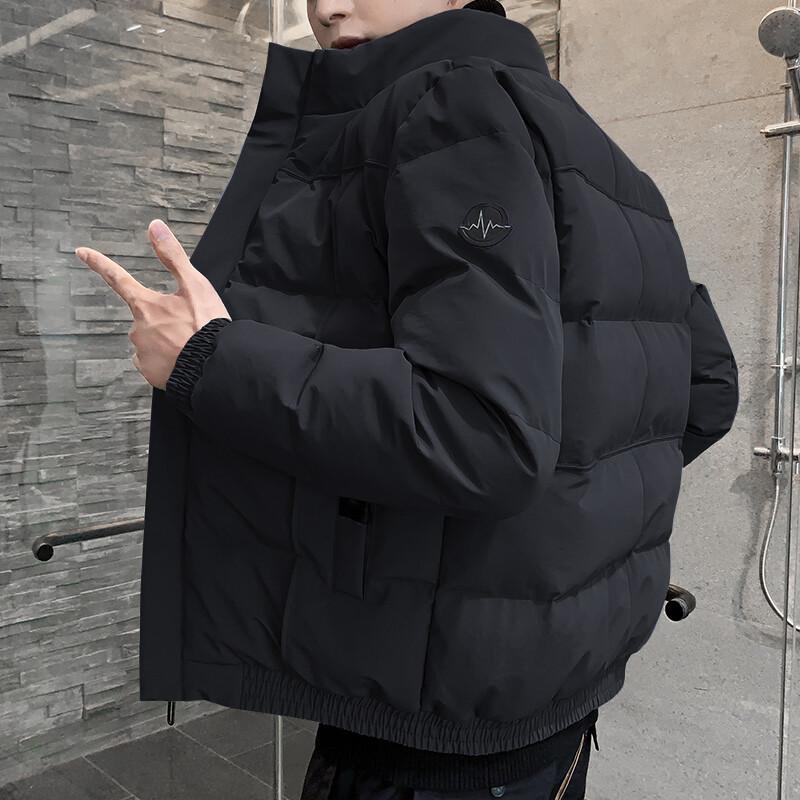 棉衣男士秋冬季外套2020新款爆款潮流加厚羽絨棉服工裝潮牌棉襖潮