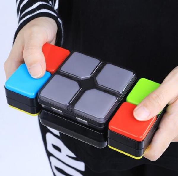 電子百變音樂魔術方塊玩具智能兒童益智魔尺發光開發智力男孩6歲以上