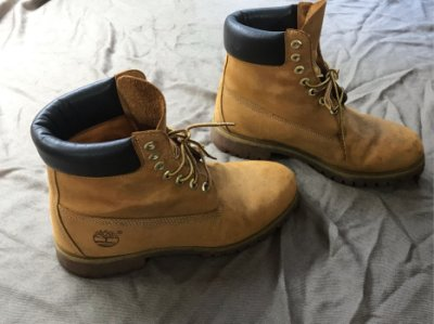 《 Timberland 》天伯倫典黃靴10061防水抗震保暖登山靴/登山鞋 /休閒鞋 實拍 請詳閱敘述~