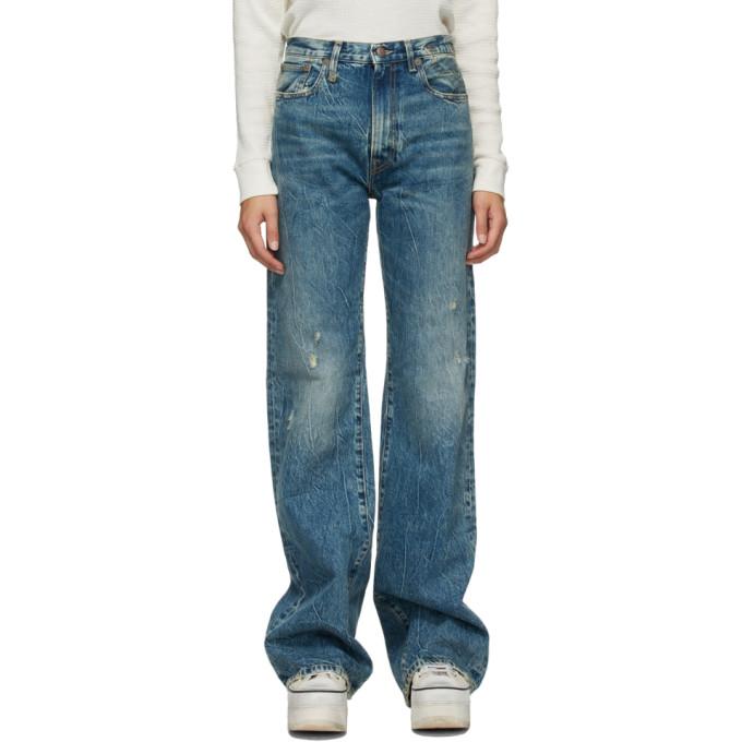 R13 蓝色 Jane 牛仔裤