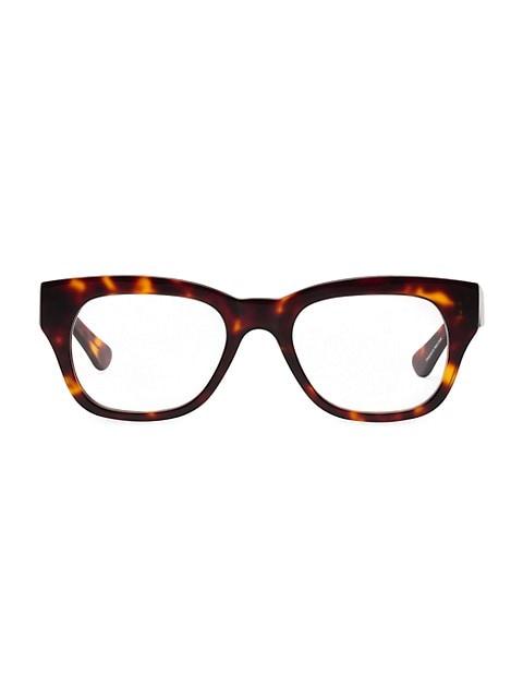 Miklos 52MM Square Blue Light Reading Glasses