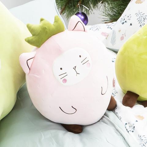 動物果友會-莓莓喵抱枕