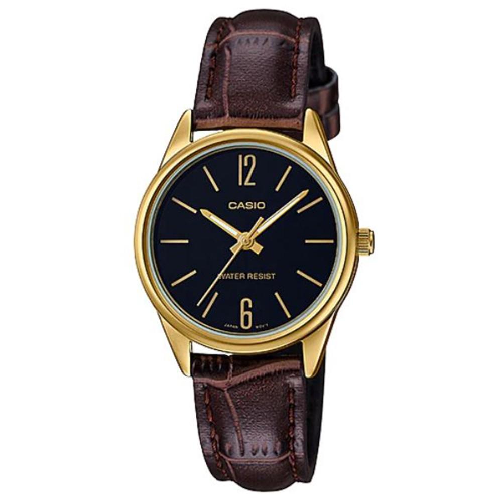 【CASIO】卡西歐 指針女錶 LTP-V005GL-1B 原廠公司貨【關注折扣】