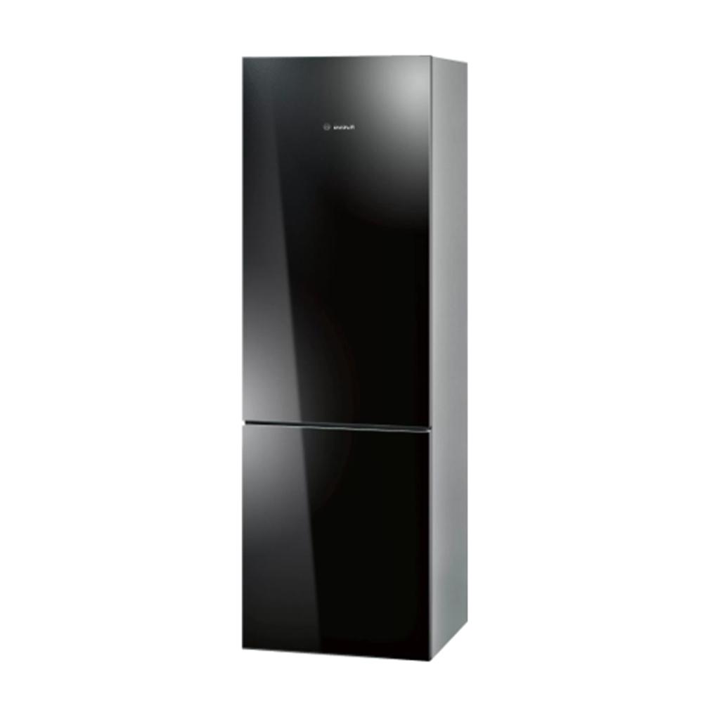 【BOSH 博世】獨立式玻璃門冰箱-深邃黑-無安裝服務 (KGN36SB30D)