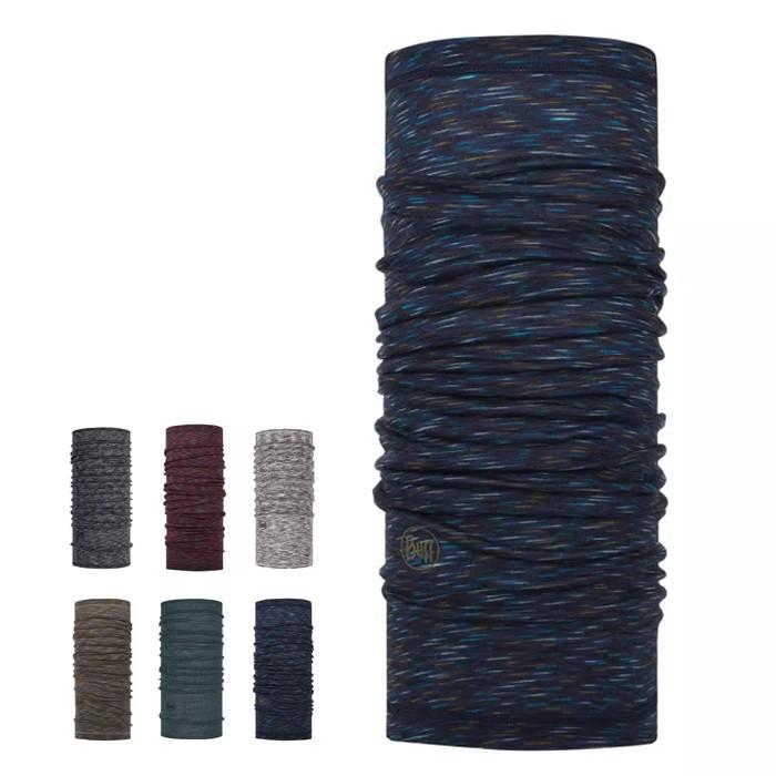 BUFF 西班牙 保暖織色 多色可選 美麗諾羊毛頭巾 脖圍 圍巾 登山 健行 單車環島 BF117819 綠野山房