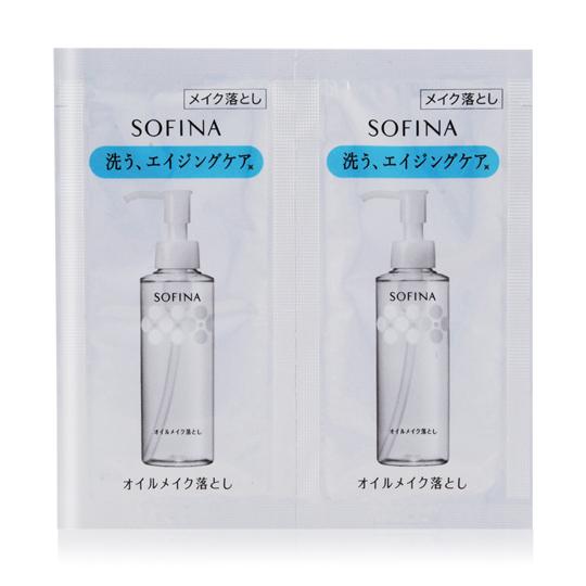 SOFINA 蘇菲娜 水潤淨化卸妝油(3mlX2)