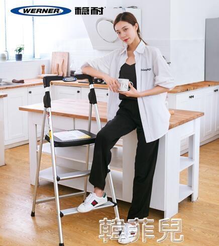 伸縮梯 梯子家用折疊人字升降伸縮室內多功能加厚鋁合金三四步