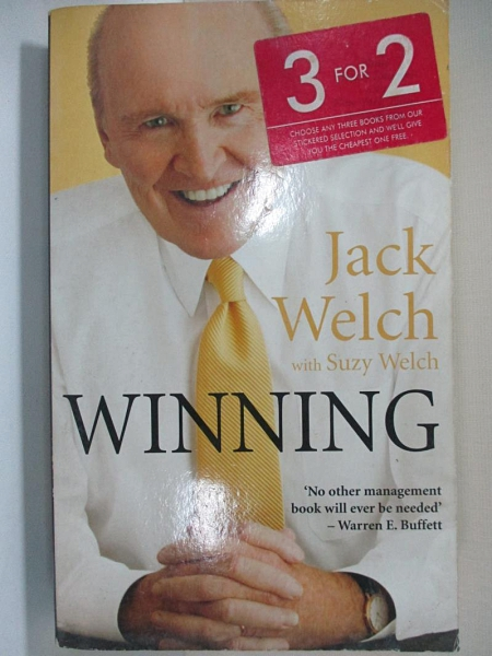 【書寶二手書T9/傳記_HHZ】Winning: The Ultimate Business How-To Book_Jack Welch, Suzy Welch