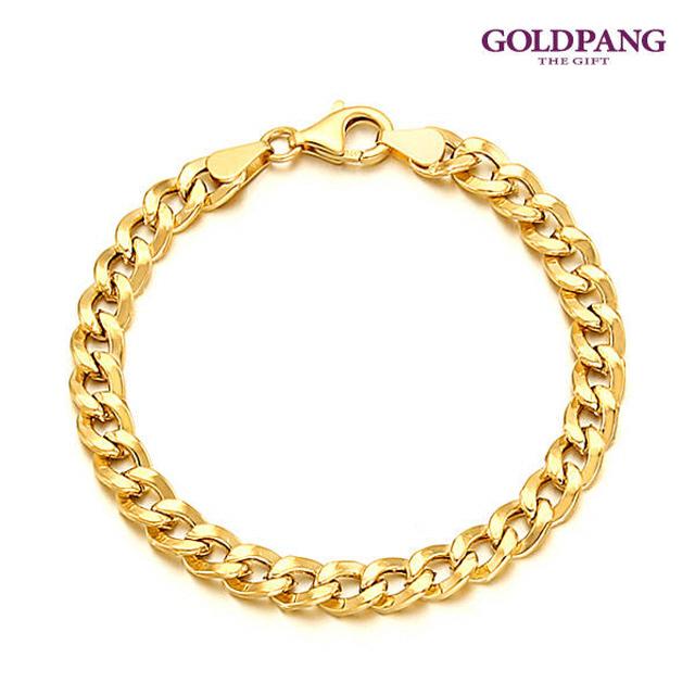 [gold pang]14k鏈條手鍊 5型 男