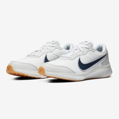 NIKE 大童 童鞋 運動鞋 訓練 健身 女鞋 白 CN9146100 Varsity Leather