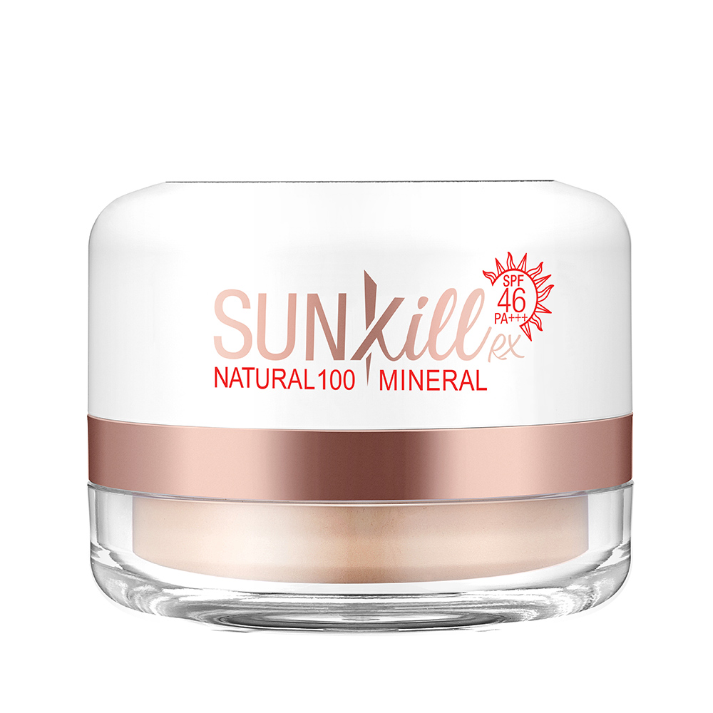 【韓國熱銷】第二代Catrin Sunkill 100%全礦物防曬蜜粉 ✅全物理防曬