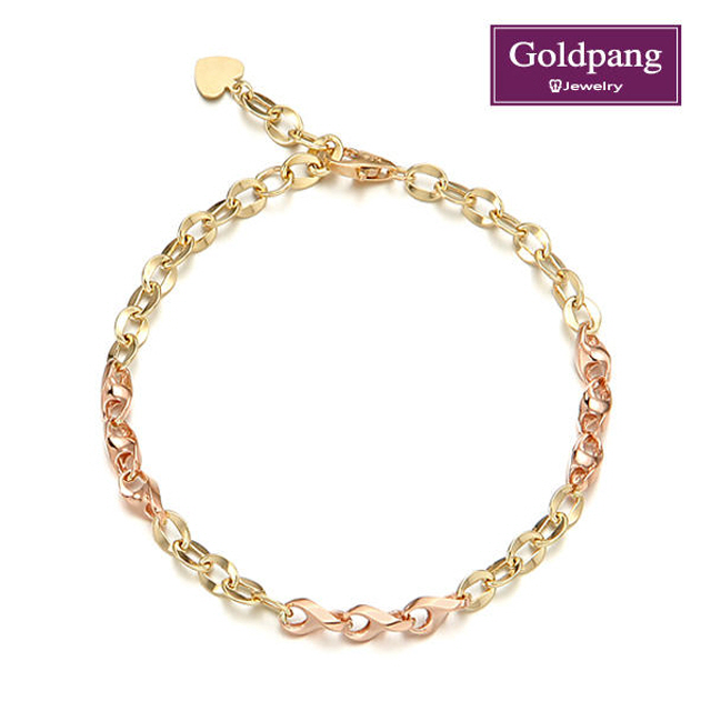 [gold pang] 14kGold 華麗手鍊