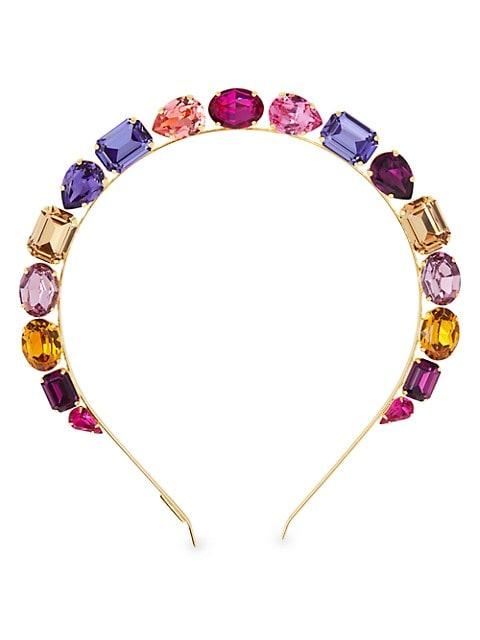 Jules Multicolor Swarovski Crystal Headband