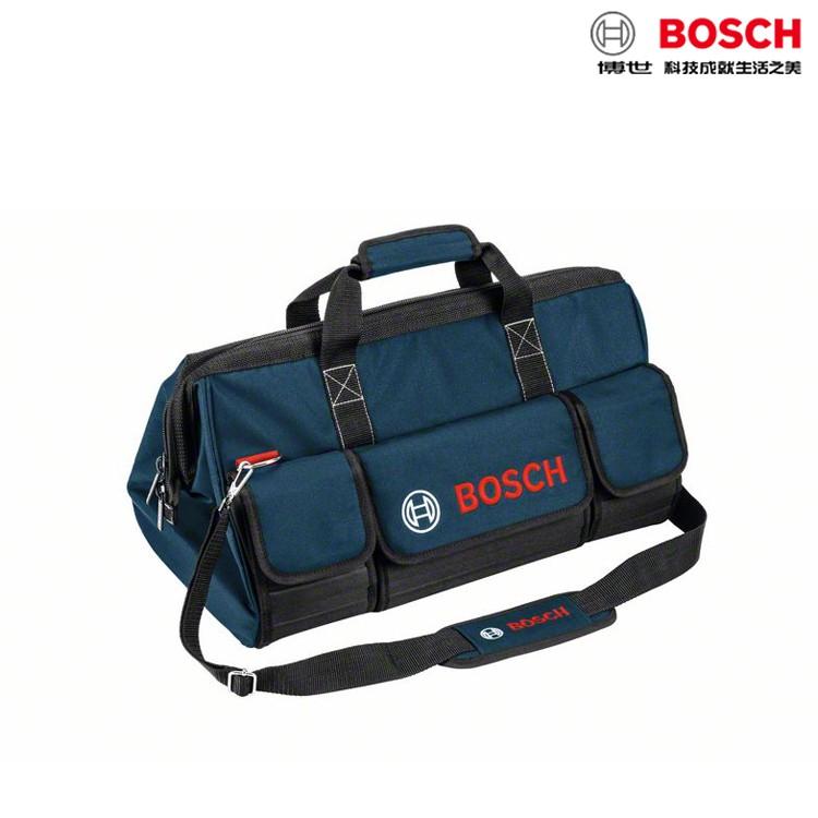 BOSCH博世原廠 硬底工具袋 大 工具包 工作袋 大型 側背袋 手提袋 耐重 水電電工 1600A003BK
